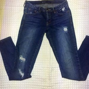 Just USA skinny distressed denim jeans